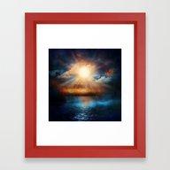 When The Sun Speaks Framed Art Print