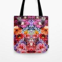 Crystal Floral Tote Bag