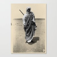 Service in Egypt Canvas Print