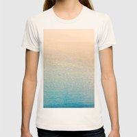 Calm Womens Fitted Tee Natural SMALL