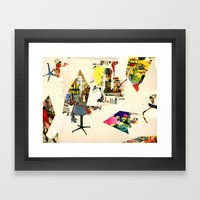 pop maintenant Framed Art Print