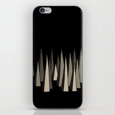 spikes iPhone & iPod Skin