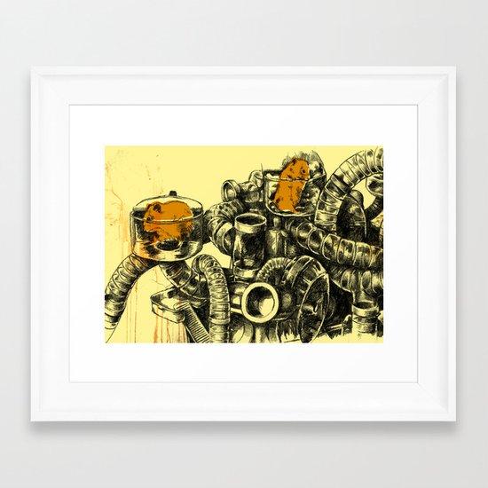 Hamsters Framed Art Print