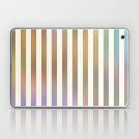 Striped Pattern In Paste… Laptop & iPad Skin