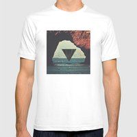 Portal Mens Fitted Tee White SMALL