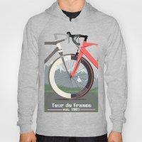 Tour De France Bicycle Hoody