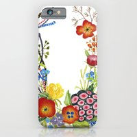 Floral Poster iPhone 6 Slim Case