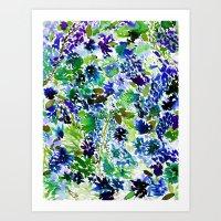 La Flor Pine Art Print
