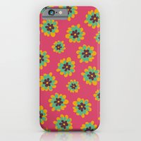 iPhone & iPod Case featuring Flowers For Lola [flowerheads] by Veronica Galbraith