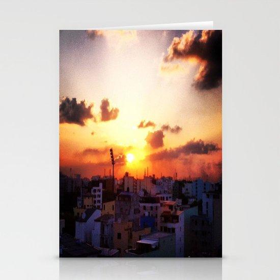 Beautiful Concrete Stationery Card