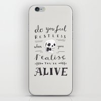 Do You Feel Restless… iPhone & iPod Skin
