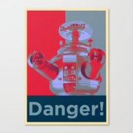 Danger!!!! Canvas Print