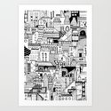 Noir City Art Print
