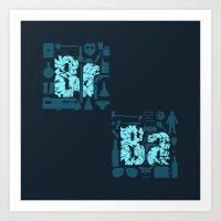 Br Ba Art Print