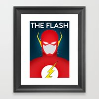 Super Speed Framed Art Print