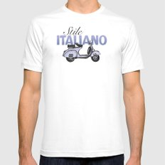 Stile Italiano SMALL Mens Fitted Tee White