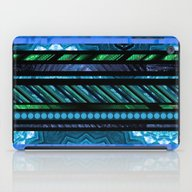 How Busy Are You? (blue-… iPad Case
