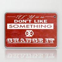 Change It Laptop & iPad Skin