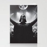Darth Vader Rocks The Pa… Stationery Cards