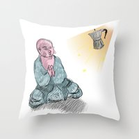 GOD GIMME THE STRENGTH Throw Pillow