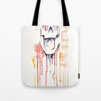 skull drips  Tote Bag