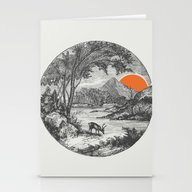 Stationery Cards featuring Another Day by Zeke Tucker