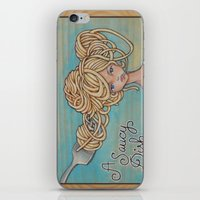 A Saucy Dish iPhone & iPod Skin