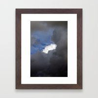 Shyly Approved Framed Art Print