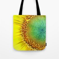 Sunflower from Seed Tote Bag