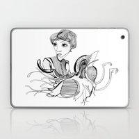 Woman On Bird Laptop & iPad Skin
