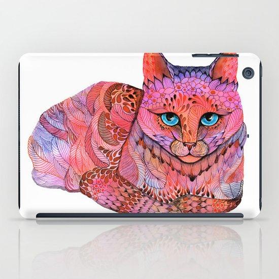 SUNSET CAT iPad Case