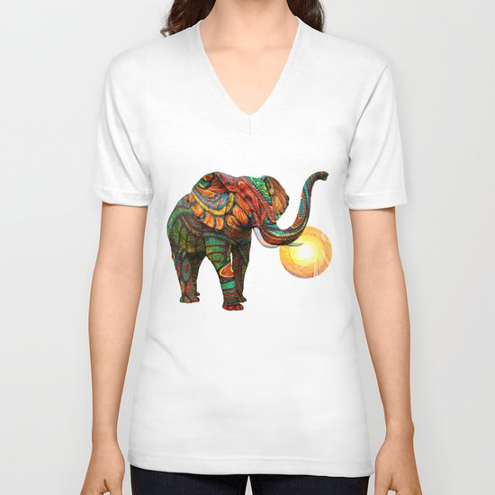 Elephant's Dream V-neck T-shirt