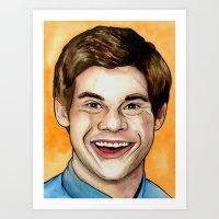 Mr. DeVine Art Print
