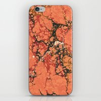 Marble Pink Square # 2 iPhone & iPod Skin