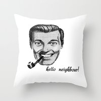 sub genius the third Throw Pillow