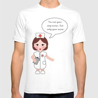 Jobs Serie: The Nurse Mens Fitted Tee White SMALL