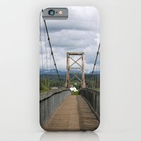 iPhone & iPod Case featuring Across the Bridge and Beyond by NoelleB