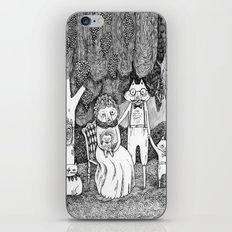 Fox Family iPhone & iPod Skin