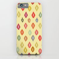 iPhone & iPod Case featuring beach house ikat diamonds by Sharon Turner