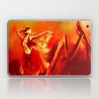 Ateş rengi Laptop & iPad Skin