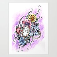 About Time Art Print