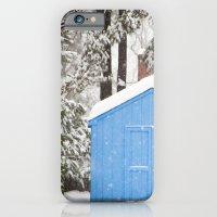 Blue Snow House  iPhone 6 Slim Case