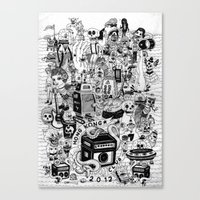 HONG KONG CLUB Canvas Print