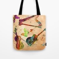 Tote Bag featuring Music  by Mark Ashkenazi