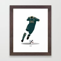 Portland Timbers 2014-15 Third Kit - MLS Cup Winners 2015 Framed Art Print