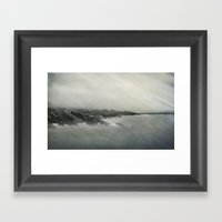 Erosion Framed Art Print