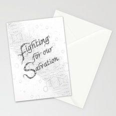 Fighting For Our Salvation0-Version 2 Stationery Cards