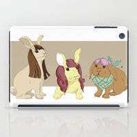 Hares In Wigs iPad Case