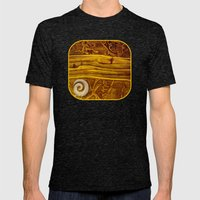 Geology 3 Mens Fitted Tee Tri-Black SMALL