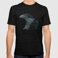 Raven Croft 2 Mens Fitted Tee Tri-Black SMALL